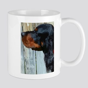 Painted Gordon Setter Mug